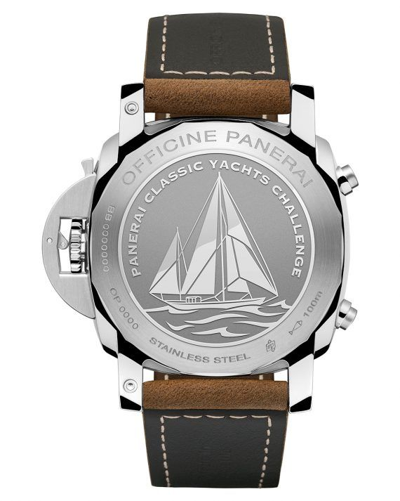 Panerai Luminor 1950 PCYC Chrono Flyback - caseback