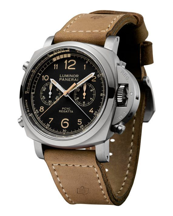 Panerai Luminor 1950 PCYC Regatta Chrono Flyback Titanio - soldier