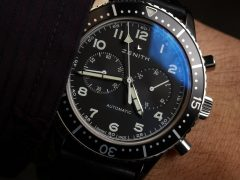 Zenith Heritage Cronometro Tipo CP-2 Vintage-Style Pilot Chronograph Watch Hands-On Hands-On