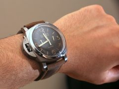 Panerai Luminor 1950 PAM579 Chrono Monopulsante Destro 8 Days Hands-On Hands-On