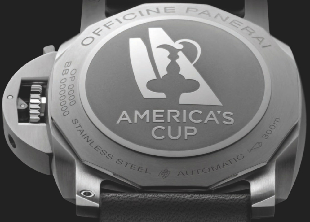Panerai Luminor Limited Edition Watches For 35th America's Cup Watch Releases