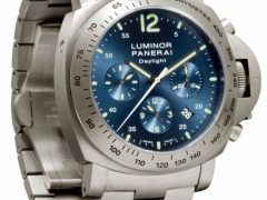 Panerai Luminor Chrono Daylight Titanium PAM 327 Watch Released Watch Releases